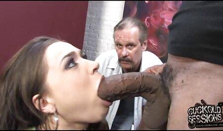 سبزه با عینک در طبیعت عکسهای سوپرسکسی خارجی رابطه جنسی داشت و یک خروس چاق را در دهان گرفت